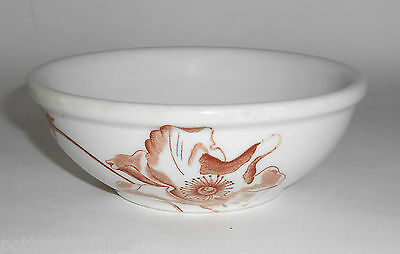 Iroquois Restaurant China Floral Rose Cereal Bowl! MINT