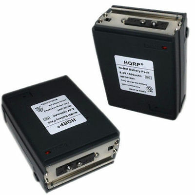2-Pack HQRP Battery for Icom BP-8 CM-8 IC-H2 IC-H6 IC-H12 IC-H16 Two Way Radios