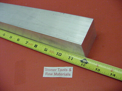 "2-1/4"" X 2-1/4"" ALUMINUM SQUARE 6061 SOLID BAR 12"" long T6511 Mill Stock 2.25"
