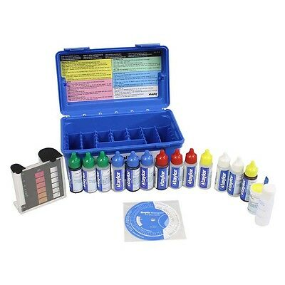 Taylor K-2006C Swimming Pool/Spa Liquid Test Kit FAS-DPD Chlorine 2 oz Reagents