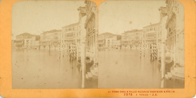 STEREO Italie, Venise Le Grand Canal STEREO Italie, Venise Le Grand Canal Tira