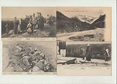 RUSSIA RUSSLAND 57 Vintage Postcards Mostly pre-1920