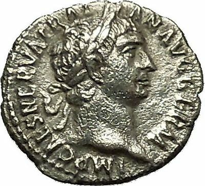 Trajan 100AD  Silver Authentic Ancient Roman Coin Concordia Harmony Cult i39828