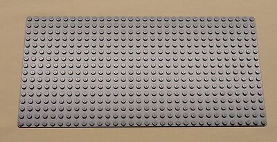x1 NEW Lego Gray Baseplate Base Plate Brick Building 16 x 32 Dots BLUISH GRAY