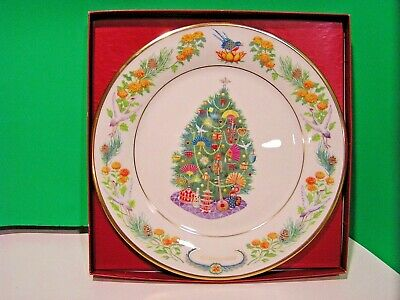 LENOX annual TREES AROUND THE WORLD PLATE 2006 Japan NEW in BOX 1st QUALITY
