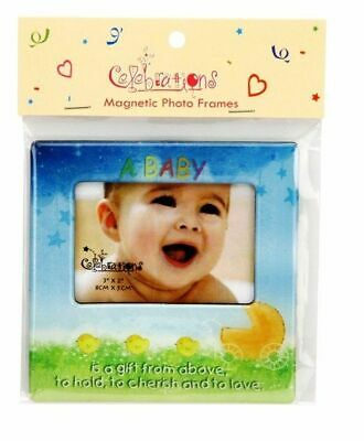 Magnetic Baby Photo Frame Boy