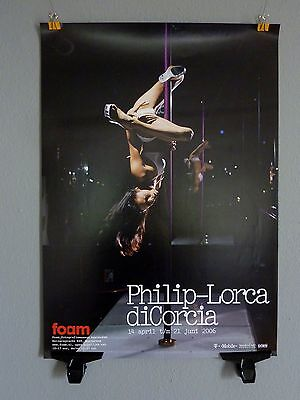 PHILIP-LORCA DICORCIA Photography Fotografie Eroticism * Exhibition Poster 2006