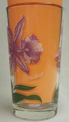 Orchid Peanut Butter Glass Glasses Drinking Kitchen Mauzy 77-7