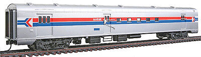 HO Scale - WALTHERS 932-6903 AMTRAK Phase 1 Scheme AC & F RPO-Baggage-Mail Car