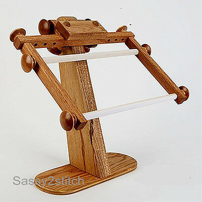 American Dream E-Z Stitch Lap Scroll Frame with Stand - CrossStitch, Needlepoint