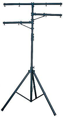 CHAUVET CH-02 7-12 Ft Adjustable Lighting Tripod Heavy Duty T-Bar Light Stand