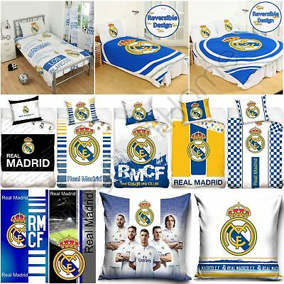 Real Madrid Bedding Accessories Football - Duvet Covers, Towels, Blanket & More