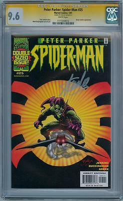 Peter Parker Spider-Man #25 Cgc 9.6 Signature Series Signed Stan Lee Movie 2