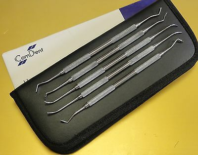 P.K. Thomas Set of 5  Wax Carvering MoIeling Instruments Set in Case CE New