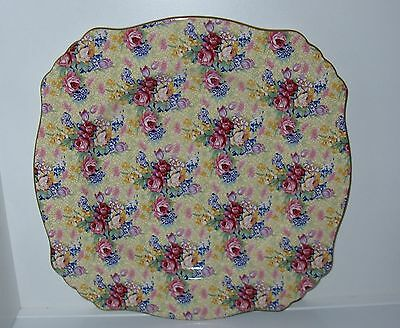 Royal Winton Chintz Welbeck ca.1995 Scalloped Dinner Plate