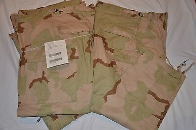 Us. Military Issue,desert Camouflage, Pants,trousers,large Short,new