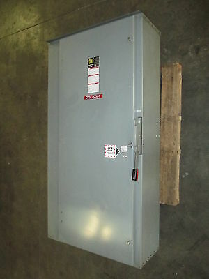 Square D HU367R 800 Amp 600V 3R Non-Fusible Heavy Duty Safety Switch Disconnect