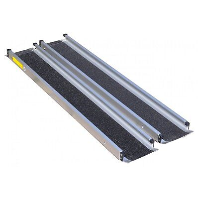 Aidapt 4ft Telescopic Channel Ramps LightWeight For Scooter Wheelchair Inc Case