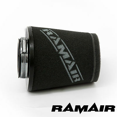 UNIVERSAL 2.5in NECK RAMAIR INDUCTION CONE HIGH FLOW FOAM AIR FILTER