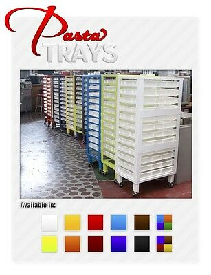 Pasta Drying Rack with 12 Trays Great for Pasta Machines!