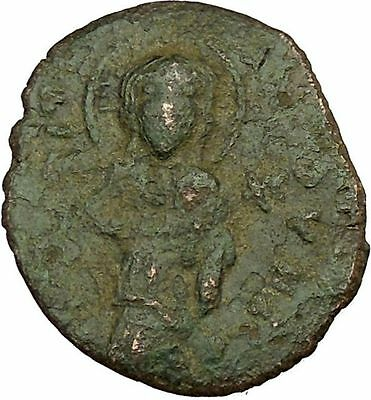 Constantine X & Eudocia 1059AD Ancient Medieval Byzantine Coin Christ  i40171