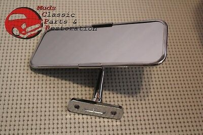 Roadster Interior Rearview Mirror Stainless Steel MG Mini Triumph Hot Rod