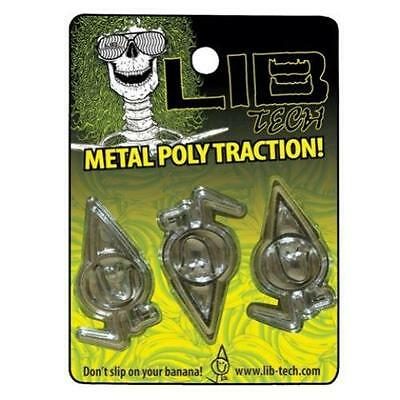 LIB TECH snowboard 2014 METAL POLY TRACTION GRIPPERS ~NEW in package~!!