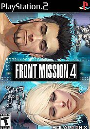 Front Mission 4 DISC WORKS Sony Playstation 2 PS2