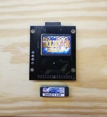 Golden Tee Complete Cf Kit With 2.09 Boot Eprom>Works With Red Or Green Boards