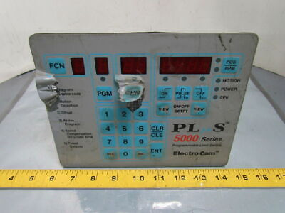 Electro Cam PS-5104-10-024 Programmable Limit Switch Plus 5000 Series