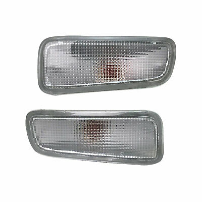 Holden Rodeo TF Ute 98-03 PR 1xLH 1xRH Clear Front Bar Indicator Blinker Lights