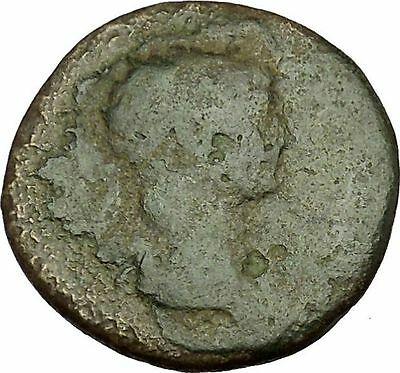 TRAJAN 115AD Ancient Rare Large Roman Coin Trophy i40229
