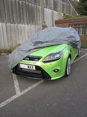 Water Resistant Breathable Full Car Cover To Fit a Citroen C2 - Small