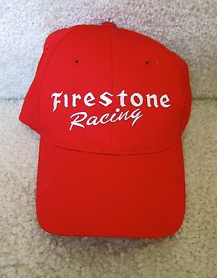 Firestone Tires Red Racing Indy 500  Hat-Cap