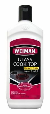 Weiman Glass Cooktop Cleaner & Polish Heavy Duty Stove Eco Friendly