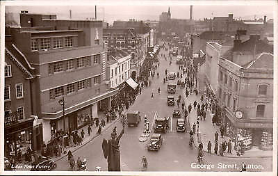 Luton. George Street. Luton News Picture.