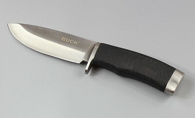 Buck Straight Blade  Camping Hunting Fishing Rescue Tool Fixed Survival Knife