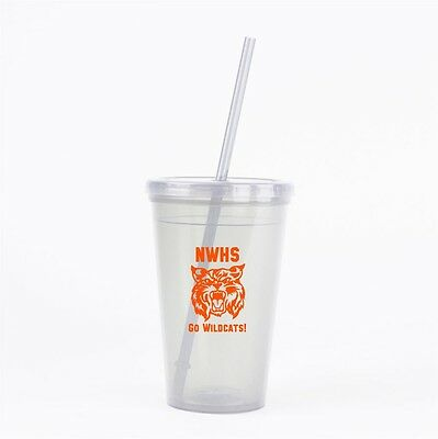 120 Custom School Event Company Promotion Double Wall Tumblers w/Lids & Straws