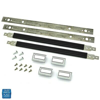 "1978-88 GM G Body Door Pull Straps Kit - 16"" Black"