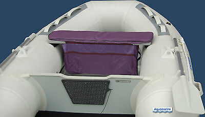 Seat Cushion with Under-Seat Storage Bag Inflatable Boat Tender Dinghy