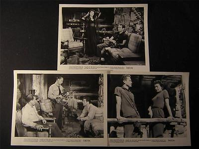 1954 Charles Chaplin Jr Fangs Of The Wild VINTAGE 6 MOVIE PHOTO LOT 749S