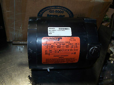 New Reliance 1/4 Hp Ac Electric Motor P56X1520P 1725 Rpm 230/460 Volt Fr56C