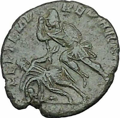CONSTANTIUS II Constantine the Great son Roman Coin Battle Horse man i40451