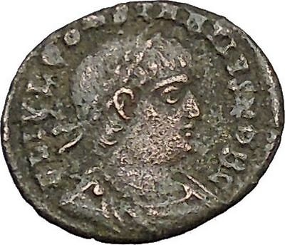 CONSTANTIUS II son of  Constantine the Great  Ancient Roman Coin Standard i40458
