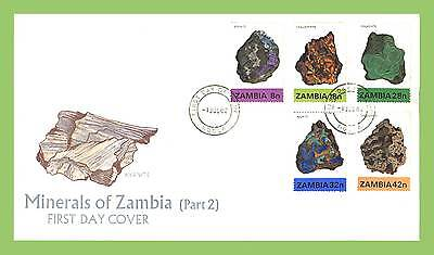 Zambia 1982 Minerals (2nd series) First Day Cover