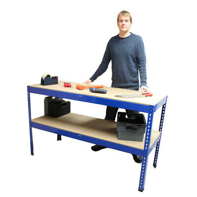 Heavy Duty Metal Workbench For Garage/Workshop/Shed Work Bench/Station
