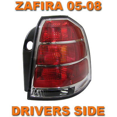 Vauxhall Zafira B Mk2 2005-2007 Rear Tail Light Lamp Drivers Side O/s Right