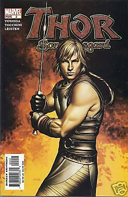 Marvel Thor Son of Asgard comic issue 2