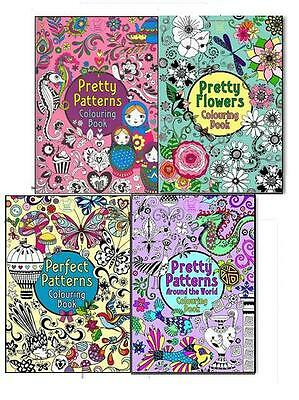 Hannah Davies & Beth Gunnell Children's Colouring Book Collection,4 Books Set
