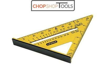 STANLEY STA46010 Dual Colour Quick Square 175mm (7in) Marking Out Tool STHT46010